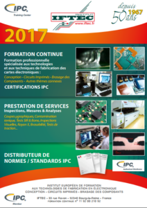 Calendrier des formations 2017