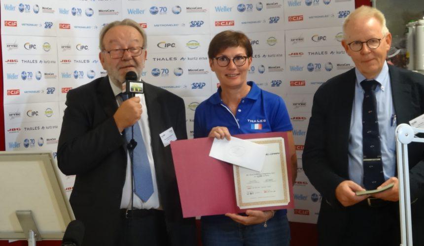 Résultat de la qualification française pour la finale mondiale de Concours International IPC de Brasage Manuel