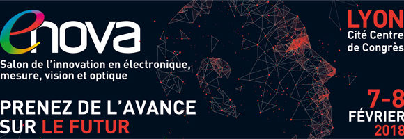 Rendez-vous au salon ENOVA Lyon du 7 au 8 février 2018