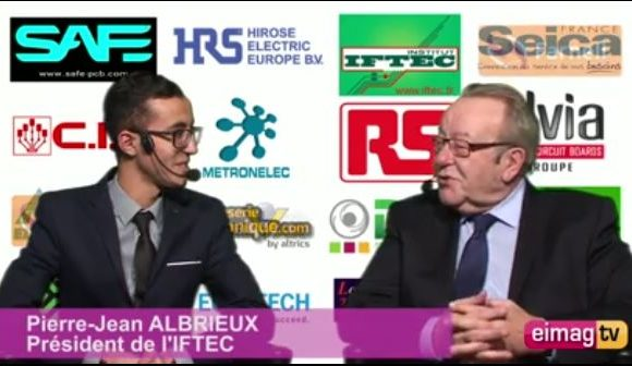 Vidéo : ENOVA Lyon 2018 – Interview de Pierre-Jean ALBRIEUX, Président de l'IFTEC