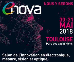 Venez nous rencontrer au Salon ENOVA Toulouse du 30 au 31 Mai 2018