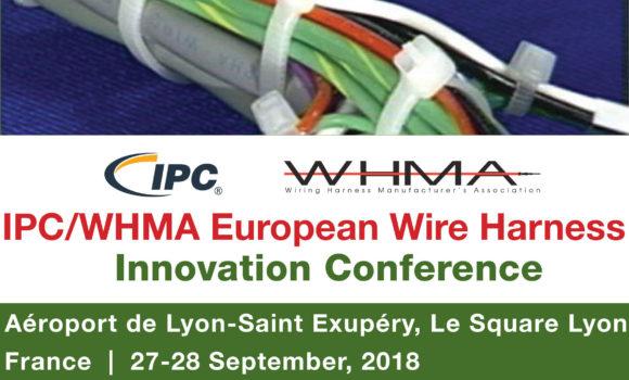 IPC/WHMA Conférence européenne sur les faisceaux de câbles et connecteurs dédiée à la fiabilité des assemblages