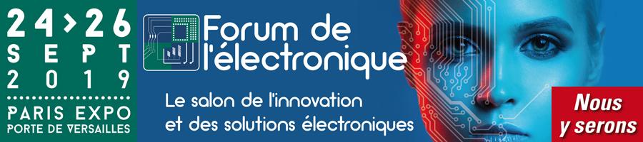 Forum de l'électronique 2019