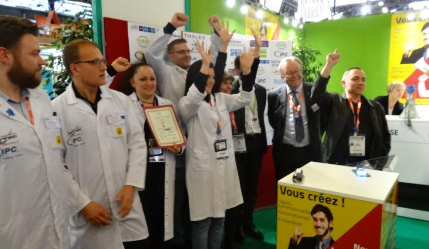 Résultat de la qualification française pour la finale mondiale de concours international IPC de brasage manuel 2018
