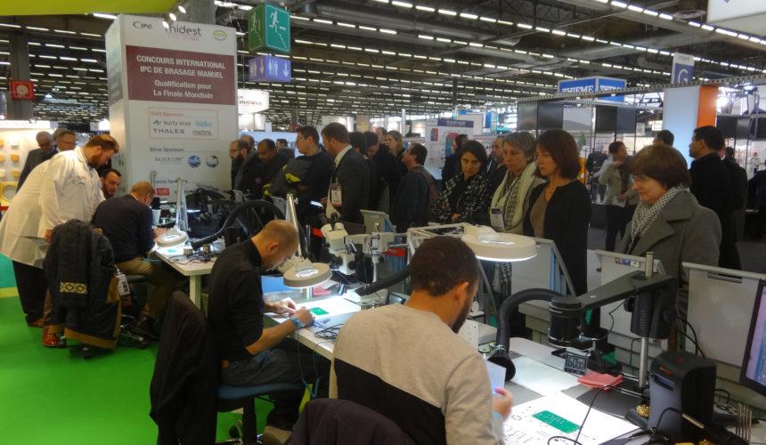 Grand succès de la 1ère édition en France  du Concours International IPC du Brasage Manuel