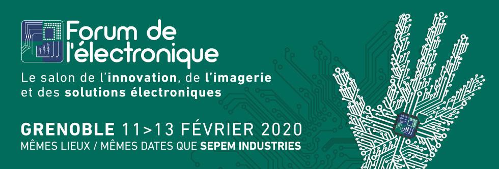 Forum de l'électronique de Grenoble