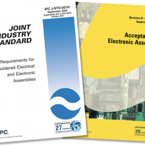 PUBLICATION DES STANDARDS IPC J-STD-001 ET IPC-A-610 EN RÉVISION H