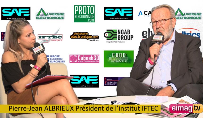 Vidéo : GLOBAL INDUSTRIE – LYON 2021 – INTERVIEW DE PIERRE-JEAN ALBRIEUX, PRÉSIDENT DE L'IFTEC